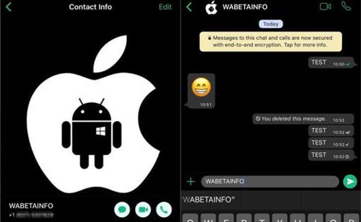 El modo oscuro de WhatsApp contaría con el siguiente aspecto