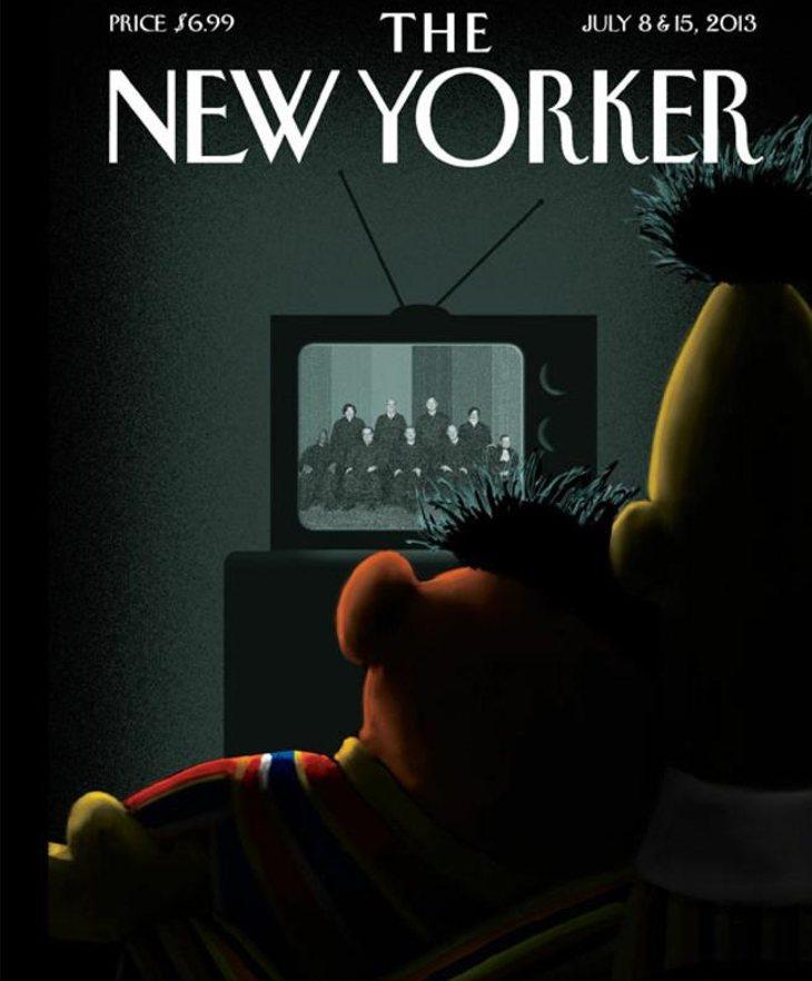 Epi y Blas en la portada de The New Yorker