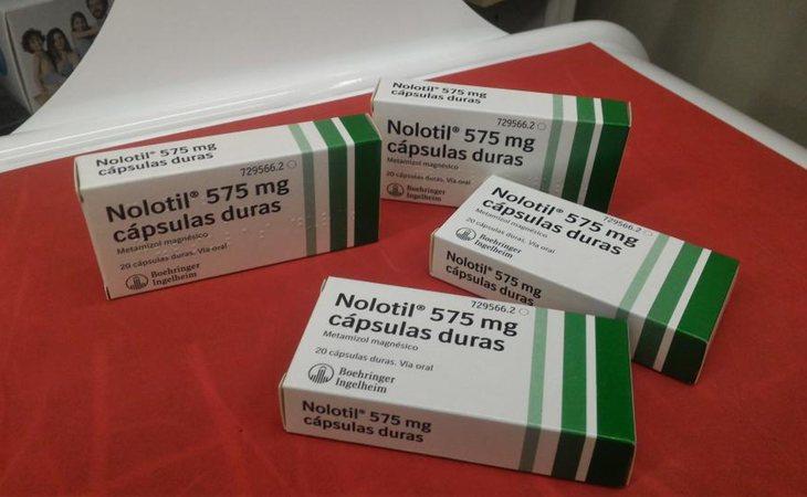 Escasez de Nolotil en las farmacias