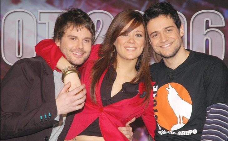Daniel Zueras, Lorena Gómez y Leo Segarra, finalistas de 'OT 2006'