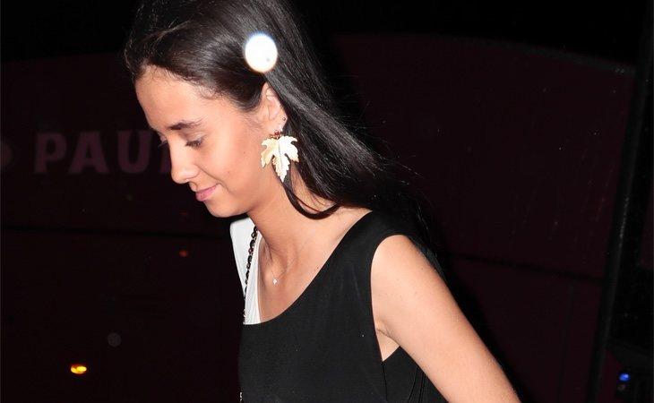 Durante la celebración de la puesta de largo de Cayetana Rivera