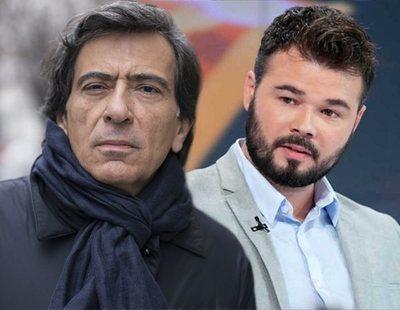 "La Generalitat investiga a Arcadi Espada por llamar ""mariconazo"" a Rufián"