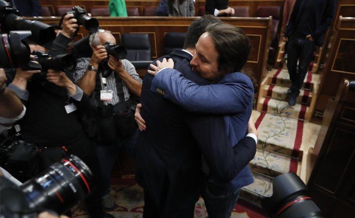 Podemos es el principal partido que sostiene a Pedro Sánchez en La Moncloa