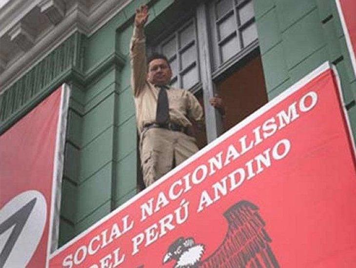 Martín Quispe es el líder del movimiento Nazi peruano