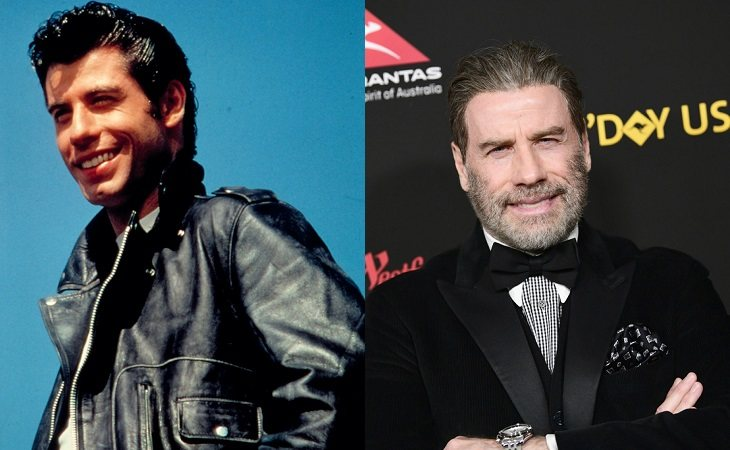 John Travolta fue Danny en 'Grease'
