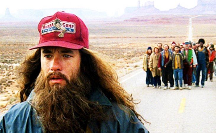 Forrest recorrió el país corriendo sabiendo que no iba a llegar a ningún lado