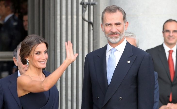 Los reyes Letizia y Felipe VI