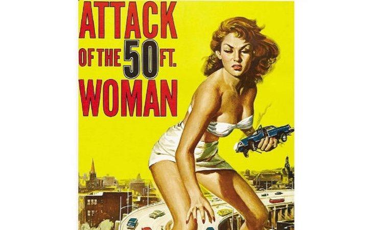 Una película de los años 50 que ya despertaba la erótica que despiertan las gigantas