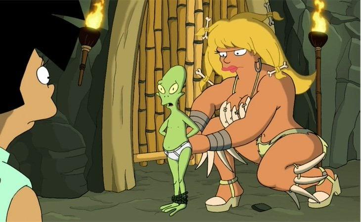 En un capítulo de 'Futurama' se hizo referencia a las giantess