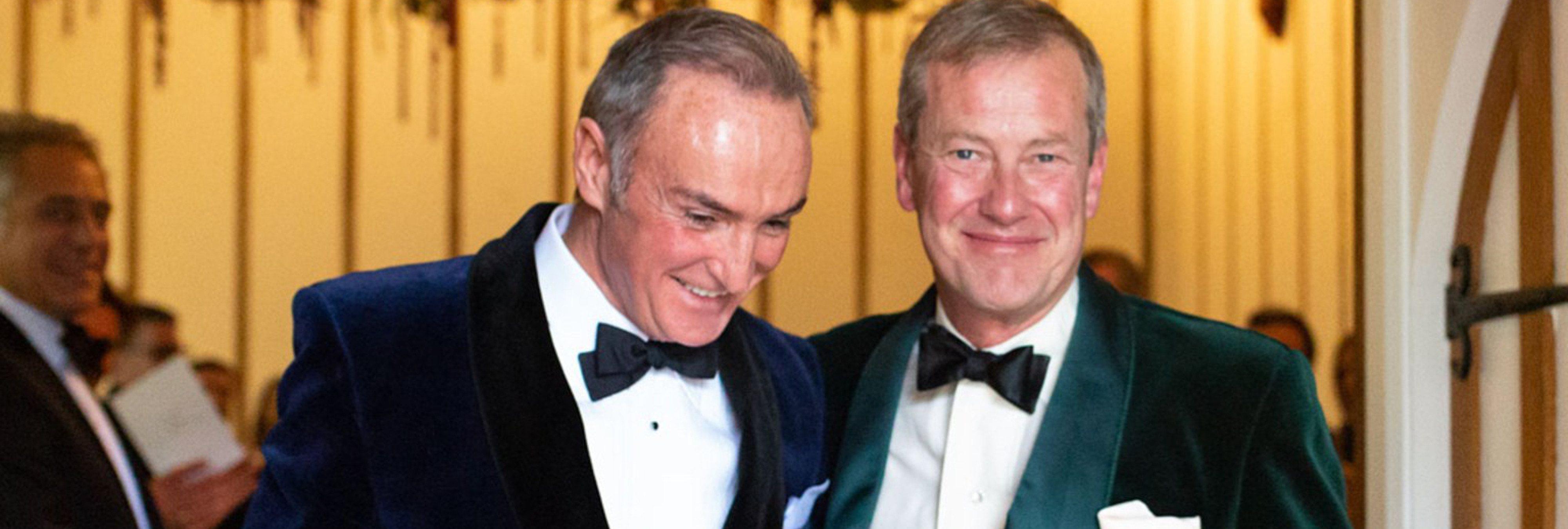 La familia real británica celebra su primera boda gay en toda la historia