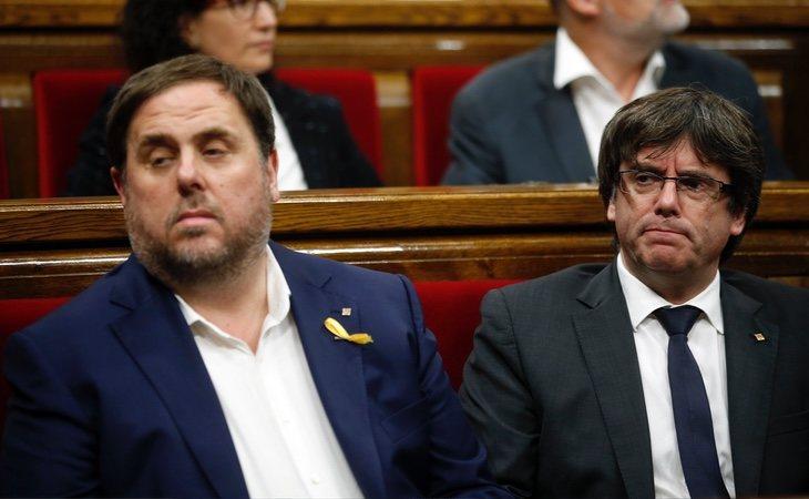 Junqueras mantiene mala relación con Puigdemont desde su huída a Bélgica