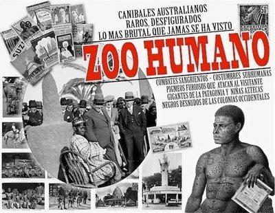 En Madrid existió un zoológico humano en el Parque del Retiro en 1887