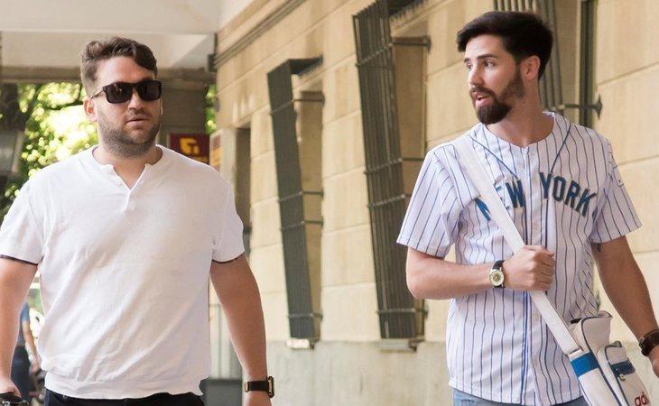 José Ángel Prenda y Jesús Escudero