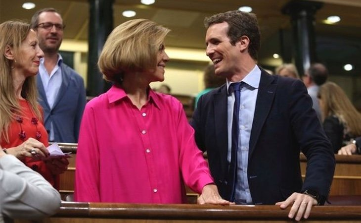 Casado está tentando a Cospedal para presentarse a la alcaldía de Madrid