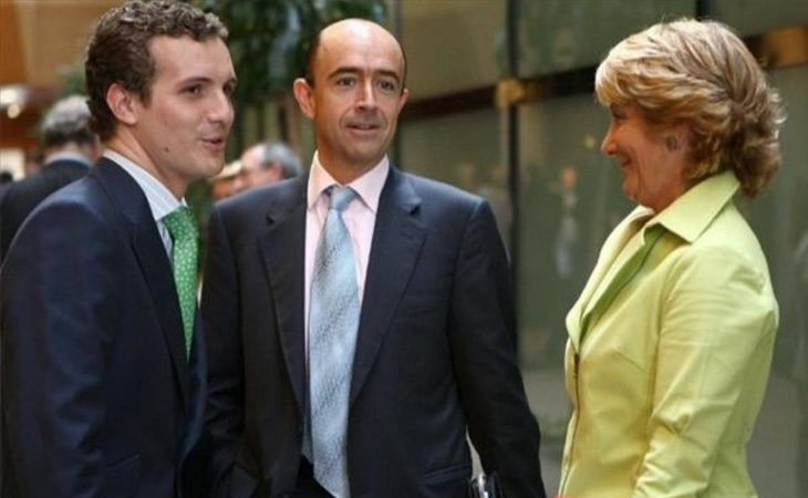 Casado creció en el PP madrileño gracias al apoyo cerrado de Esperanza Aguirre