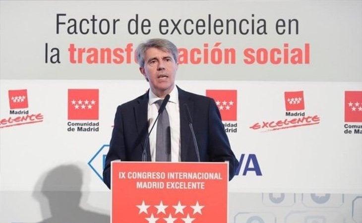 Ángel Garrido tiene intención de mantener la Comunidad de Madrid, aunque su candidatura no está asegurada