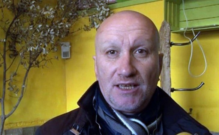 Fernando Blanco supuestamente padeciendo las consecuencias del cáncer