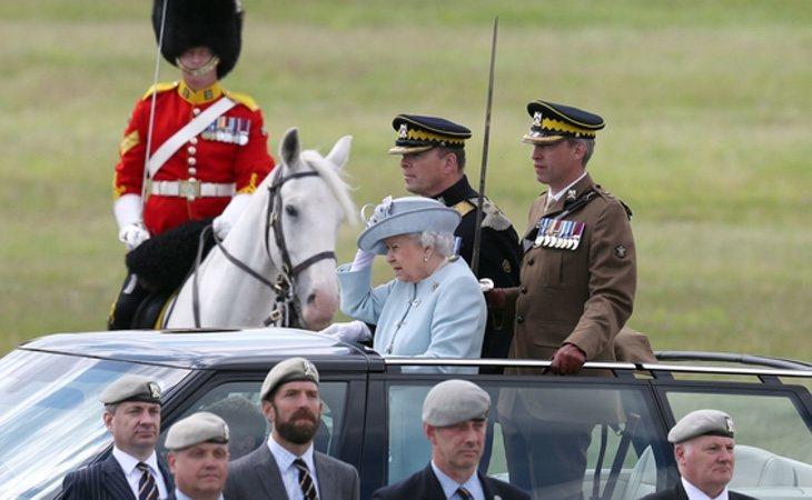 Isabel II tiene 92 años y lleva siendo reina 56