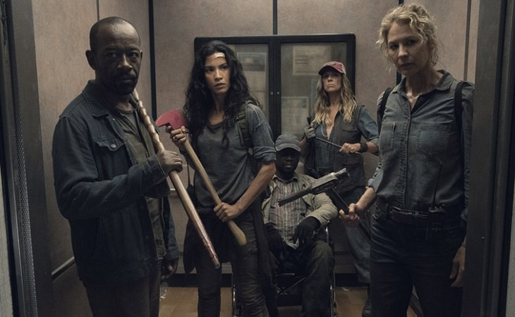 Parte del elenco de la cuarta temporada de 'Fear The Walking Dead'
