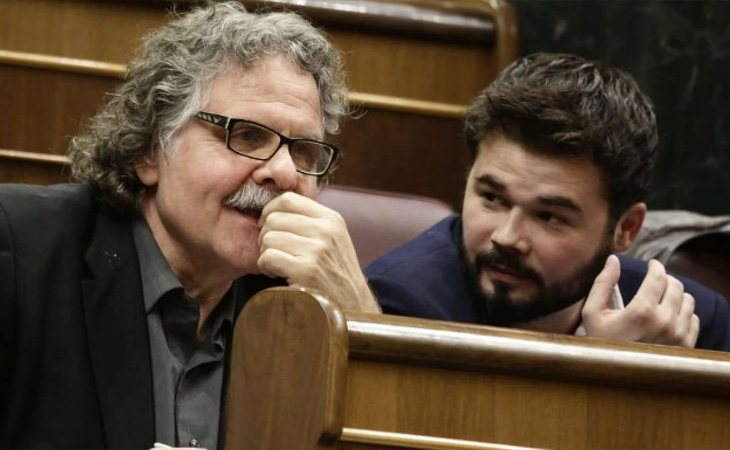 Puigdemont y Tardá evidencian el cambio de posición de ERC
