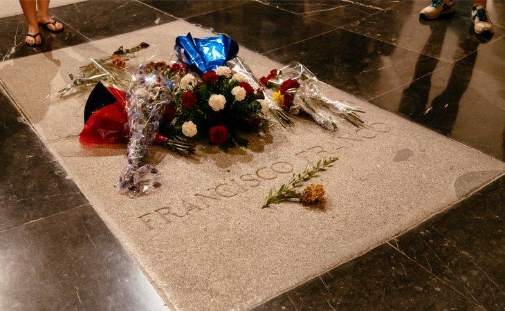 Los restos de Franco en El Valle de los Caídos