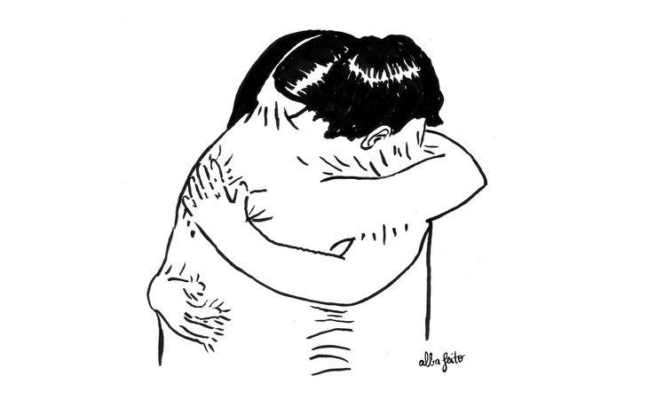 Abrazar a una persona es la forma más efectiva de consolarla, según un estudio