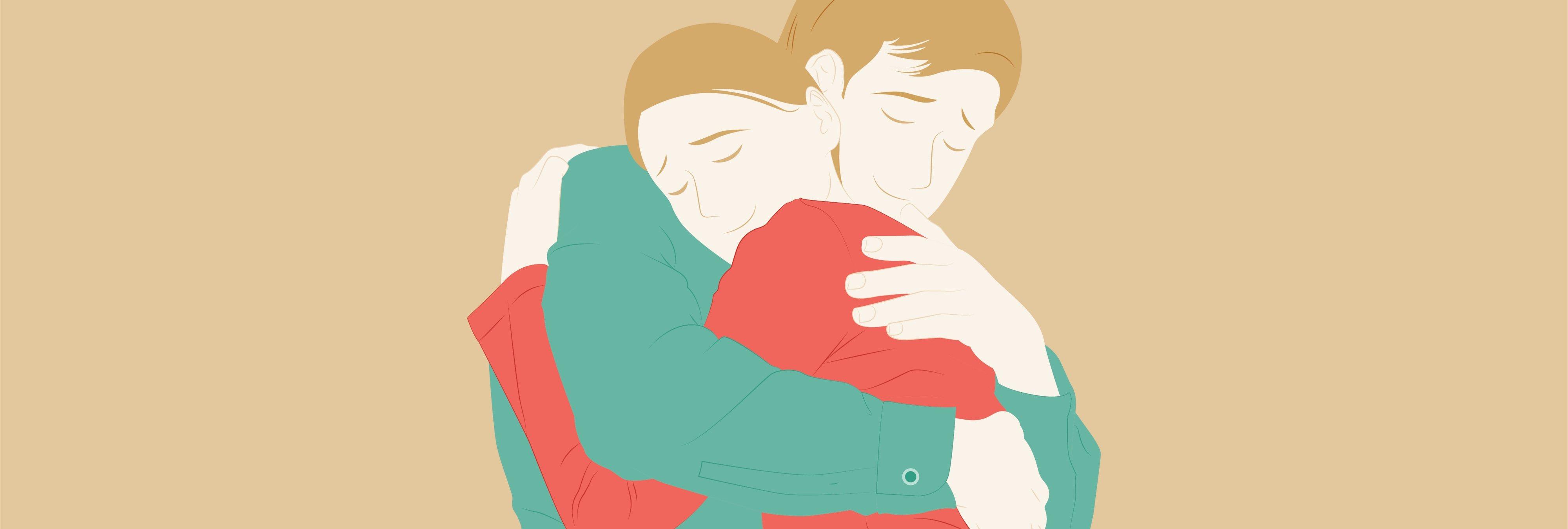 Abrazar es la manera más eficaz de consolar a alguien, según un estudio