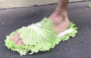 Zapatillas de lechuga a 105 euros para el otoño: la nueva moda que causa furor
