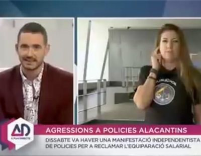 La tele valenciana se niega a hablar en castellano a una mujer que no comprende el idioma