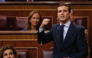 """Pablo Casado asegura que la Transición fue """"pacífica y ejemplar"""" gracias a la Iglesia"""