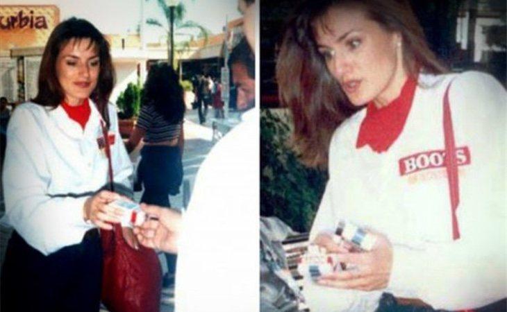 Letizia Ortiz vendiendo tabaco en México