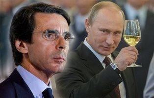 """Aznar: """"Putin es un líder implacable con las ideas claras"""""""