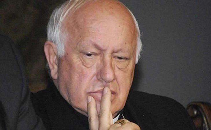 Ricardo Ezzati, arzobispo de Santiago