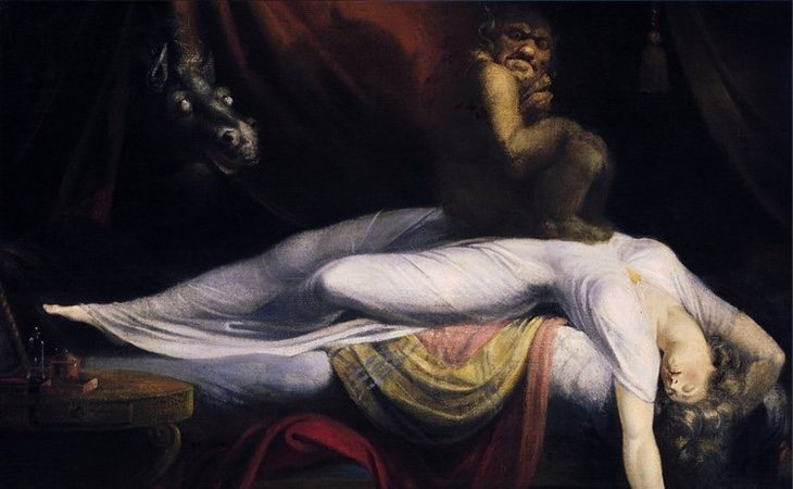 La pesadilla, de Henry Fusely, es una muestra de parálisis del sueño