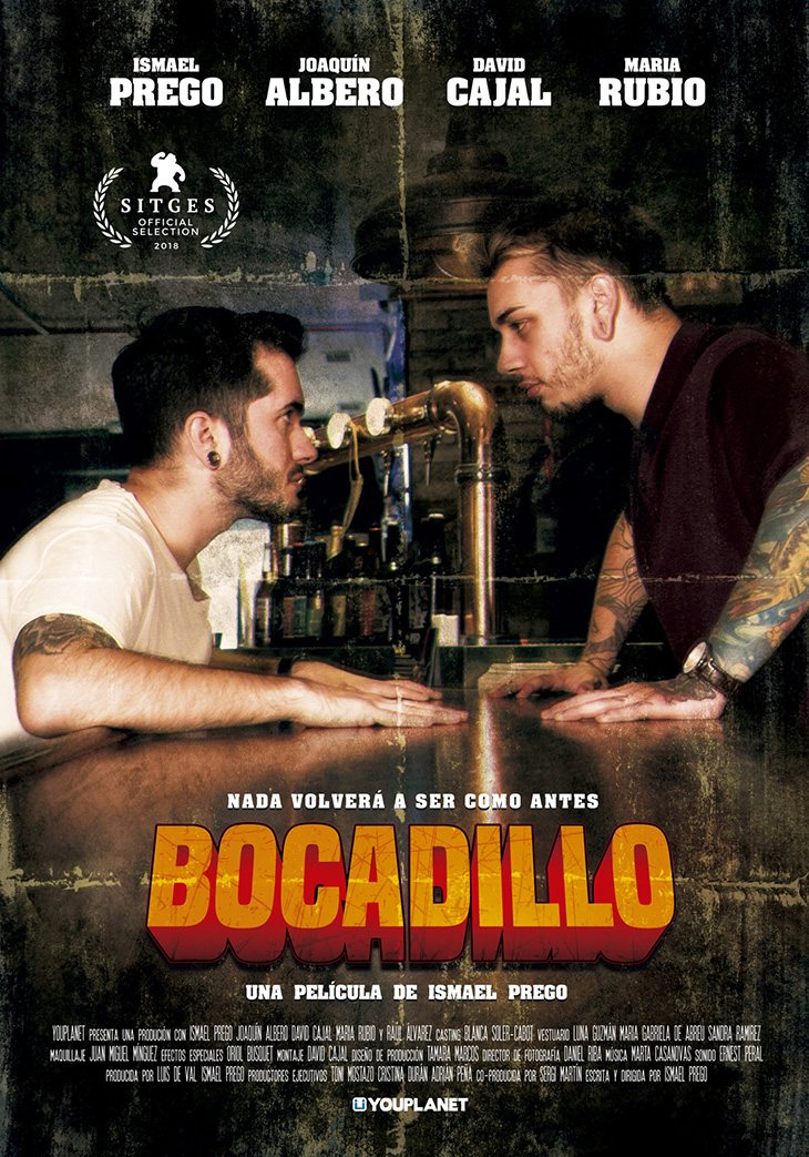 Cartel de 'Bocadillo'