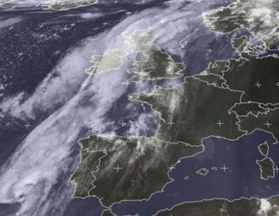 El huracán Leslie llega a España con vientos de 100 kilómetros por hora