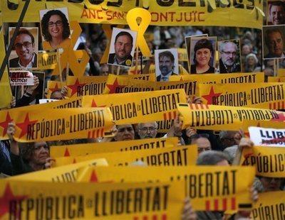 Los líderes catalanes procesados por rebelión podrían tener la pena de cárcel más baja
