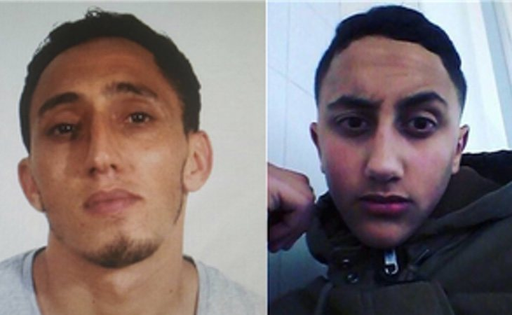 Driss (28 años) y Mousa Oukabir (17 años)