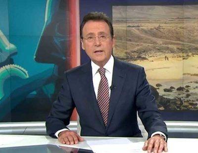Matías Prats sorprende a todos con un rap en pleno directo