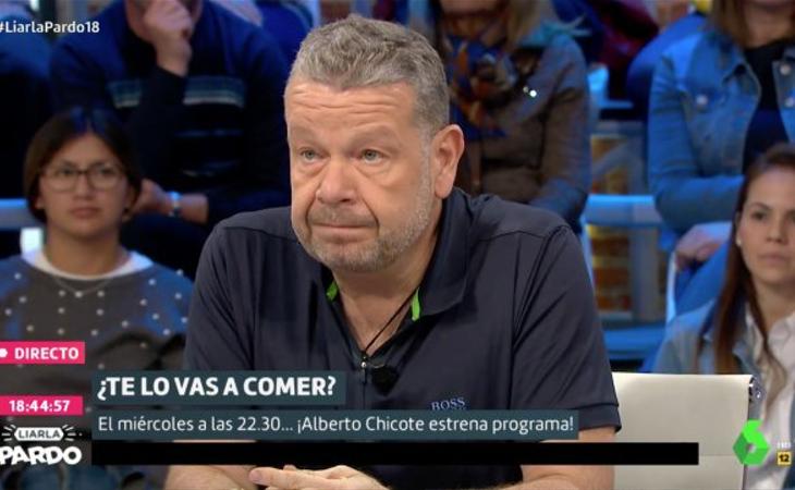 Alberto Chicote ha iniciado una dieta que le ha permitido perder 31 kilos