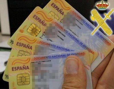La Guardia Civil alerta sobre los riesgos de subir el DNI a la red