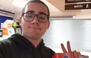 La viral y loca historia de Sebas, el youtuber que se quedó atrapado en un Carrefour