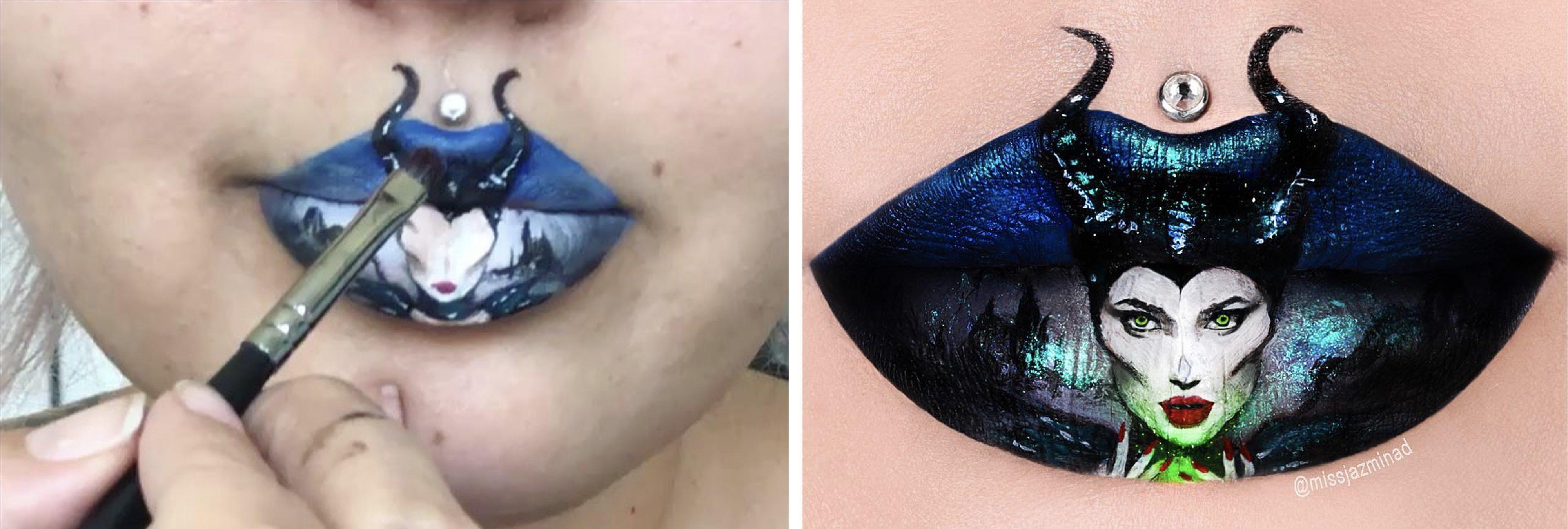 Jazmina Daniel: la instagramer que triunfa con sus maquillajes surrealistas