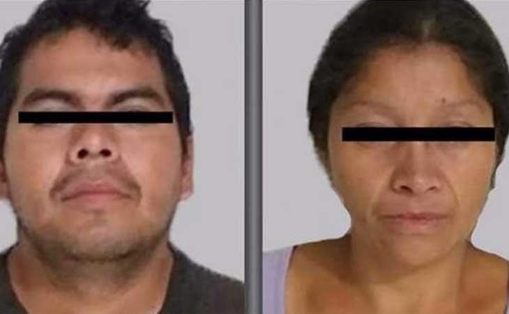 Juan Carlos y Patricia tras su detención