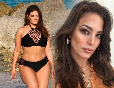 Ashley Graham, la modelo XXL, ha sido criticada por haber perdido peso