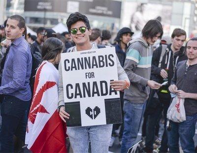Canadá hace historia: el primer país industrializado que legaliza la marihuana