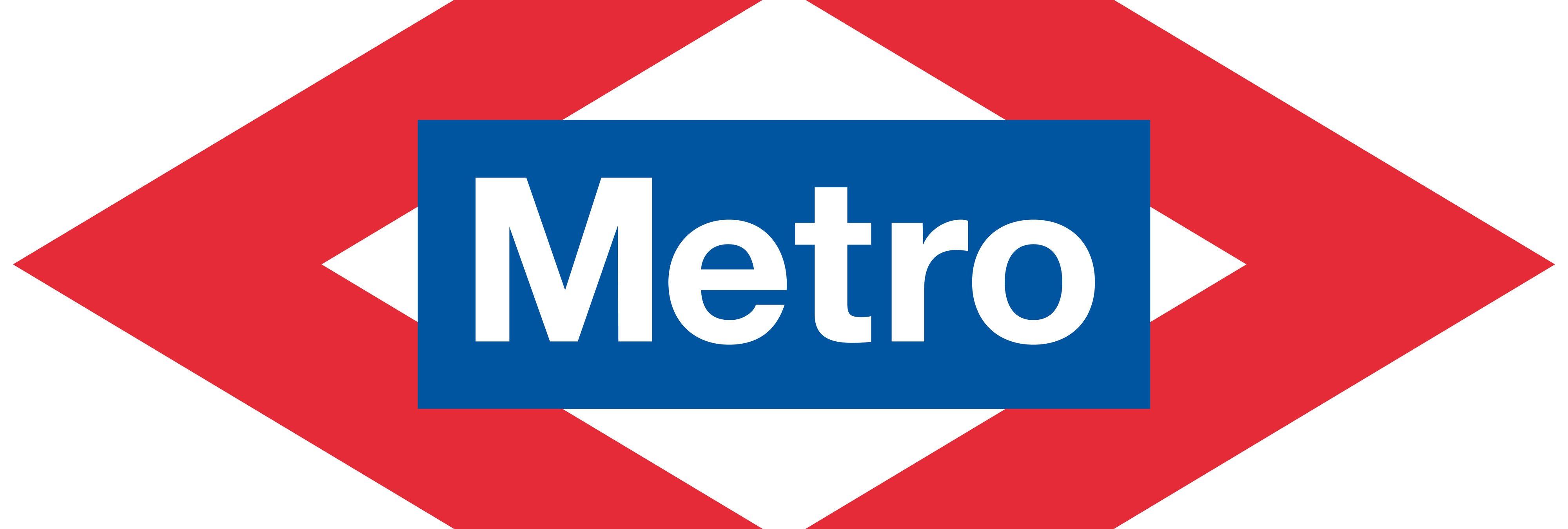 Evolución del logotipo del Metro de Madrid