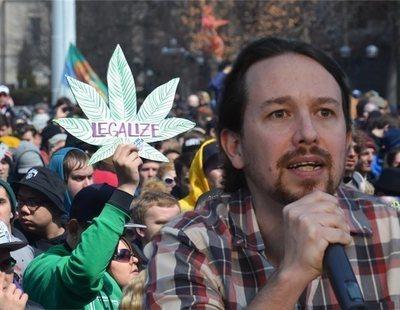 Podemos promueve la plantación de marihuana entre los agricultores con malas cosechas