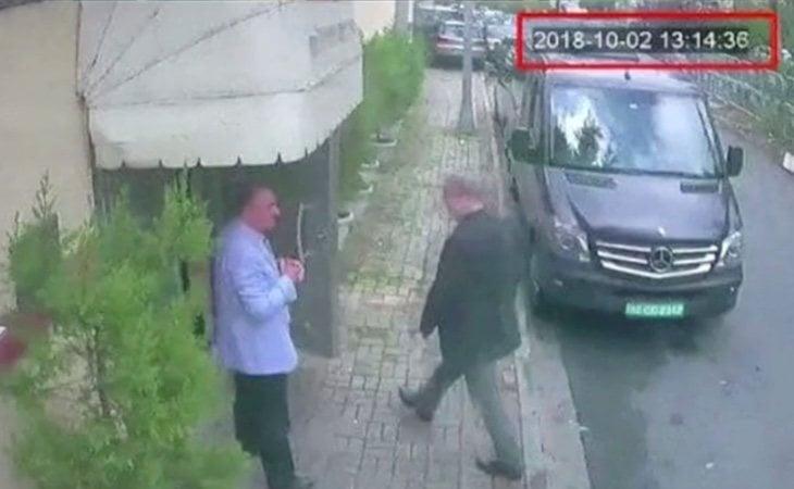 Khashoggi acudió a la embajada invitado por las autoridades saudíes