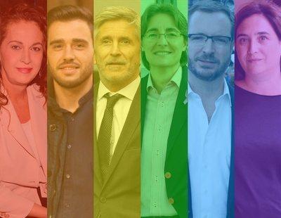 35 políticos españoles LGTB que representan al arcoíris en las instituciones